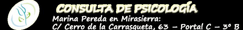 Centro de Psicología Marina Pereda